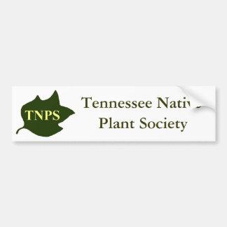 TNPS Poplar Leaf Logo Bumper Sticker