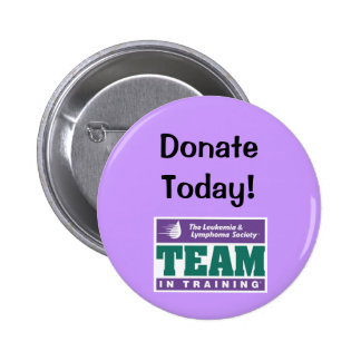 TNT Donate Today! Pinback Buttons