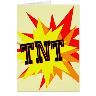 TNT GREETING CARD