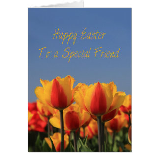 To a Special Friend Happy Easter Card