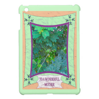 To a wonderful mother 8 iPad mini cover