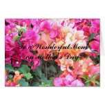 To a Wonderful Mum... Greeting Card