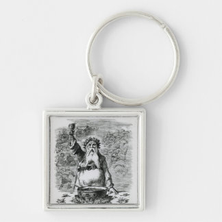 To Absent Friends! Key Chains