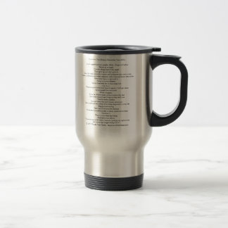 To Achieve Your Dreams Cup Black Ink Rt Hand Print Mug