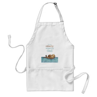 To an otterly amazing dad Sea otter Standard Apron