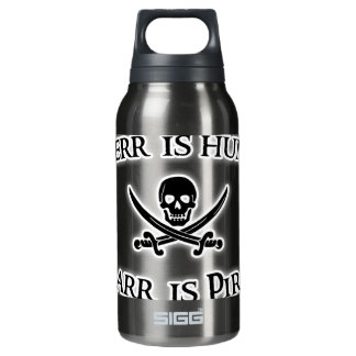 To Arr is Pirate! Insulated Water Bottle