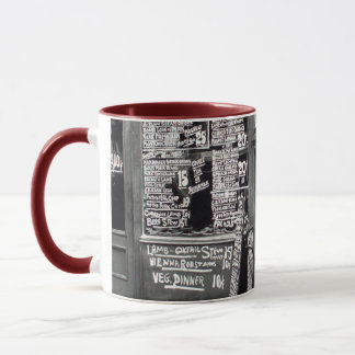 to barber shop mug