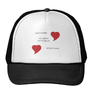 To be a Lover Mesh Hat