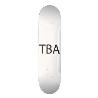 To Be Advised ai Skate Decks
