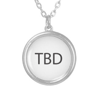 To Be Determined ai Personalized Necklace