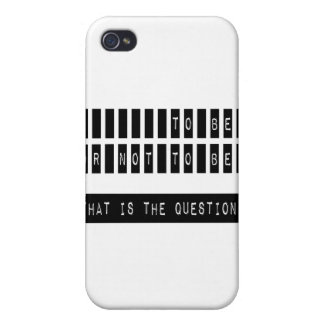 To Be or Not To Be Famous Shakespeare Quote iPhone 4 Covers