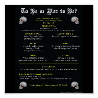To Be or Not to Be? Poster