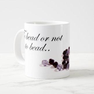 To bead or not to bead Mug Jumbo Mug