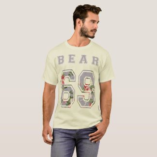 to bear 6 9 flowers mulberry T-Shirt