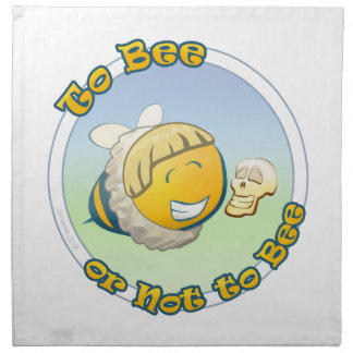 to Bee or not To Bee Printed Napkins