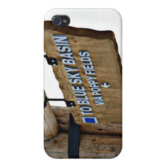 To Blue Sky Basin iPhone 4/4S Cases
