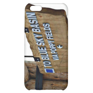 To Blue Sky Basin iPhone 5C Cover