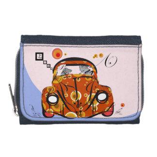 to car chat-orange wallet