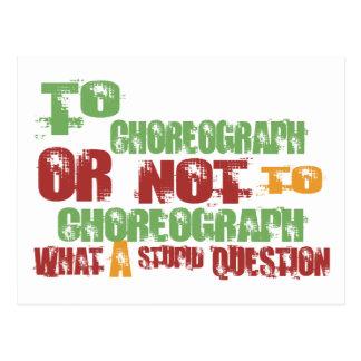 To Choreograph Postcard