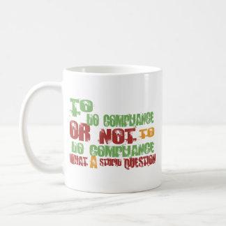 To Do Compliance Classic White Coffee Mug
