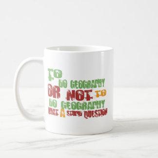 To Do Geography Classic White Coffee Mug