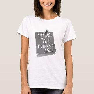 To Do - Kick Cancer's Ass Brain T-Shirt