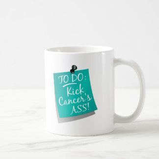To Do - Kick Cancer's Ass Cervical Coffee Mug