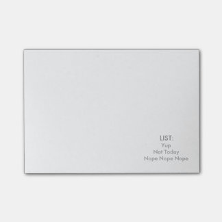 TO DO LIST POST-ITS POST-IT NOTES