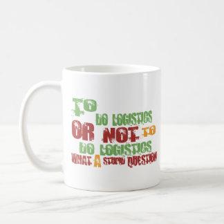 To Do Logistics Classic White Coffee Mug