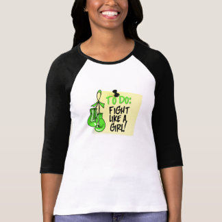 To Do Note Fight Like a Girl Non-Hodgkins Lymphoma Shirts