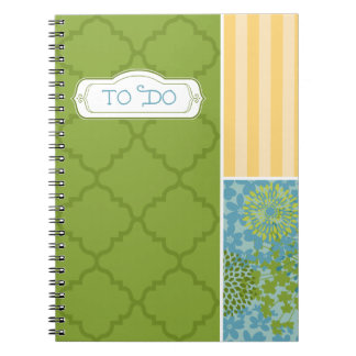 """To Do"" Notebook - Spring Green"