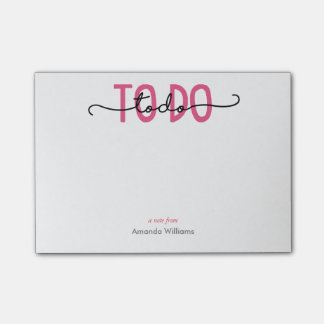 TO DO - Purple Post-it Notes
