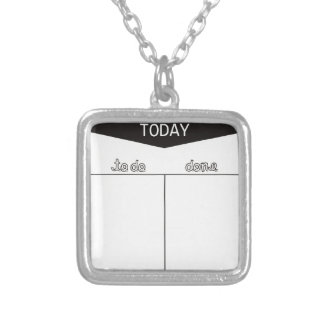TO DO TODAY DONE LISTS ORGANIZE MOTIVATIONAL PENDANTS