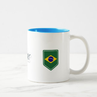 to docker Brazil Two-Tone Coffee Mug