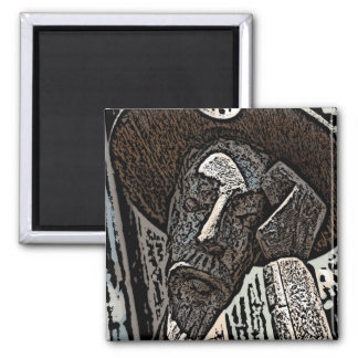 To Dream the Impossible Dream Square Magnet