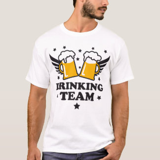 To Drinking team Beer beer alcohol Alco-get fan T-Shirt