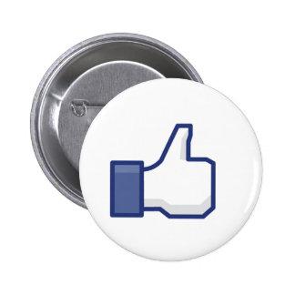 to enjoy Facebook Pinback Button