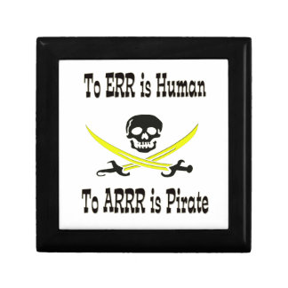 To Errr is Human, To Arrrr is Pirate! Gift Box