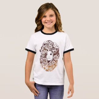 to flower girl ringer T-Shirt