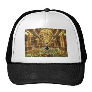To flower hall Floral resound Trucker Hat