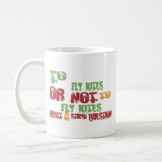 To Fly Kites Mugs