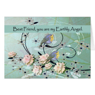 To Friend (Goodbye From Terminally ill Friend) Greeting Card