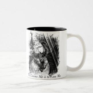 To Gnome Me is to Love Me (Mug) Two-Tone Coffee Mug
