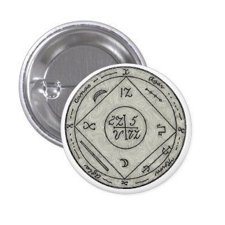 To Have Familiar Spirits at Command 3 Cm Round Badge