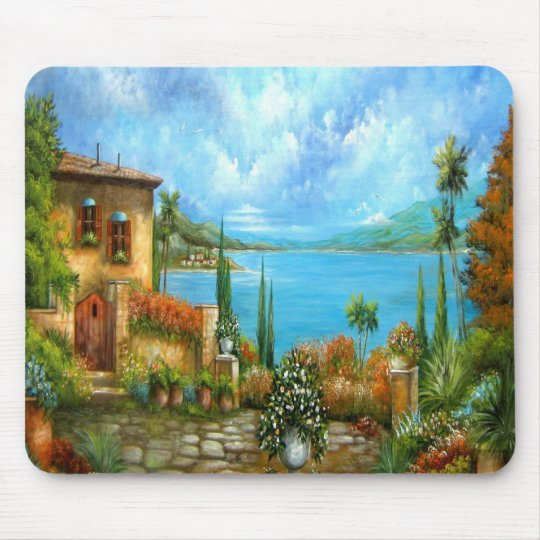 To Heaven and Back Tuscany Design Mouse Mat
