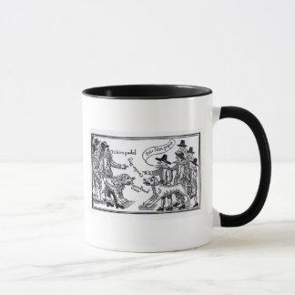 To Him Pudel, Bite Him Peper' Mug