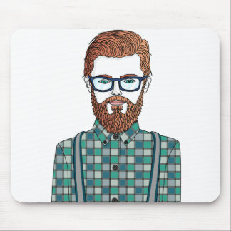 to hipster mouse pad
