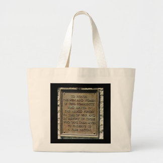 TO HONOR TOTE BAGS