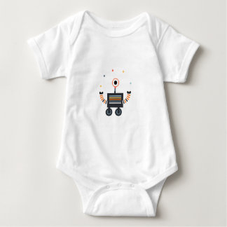 to juggler robot baby bodysuit