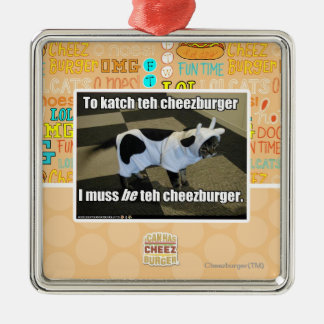 To katch teh cheezburger christmas ornament